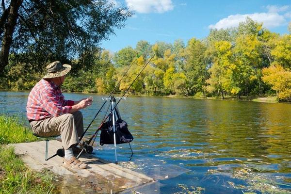 рыбак рыбачить